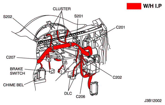 Схема сигнала на шевроле лачетти