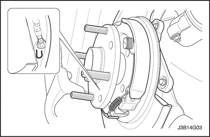 схема ручного тормоза шевроле лачетти.