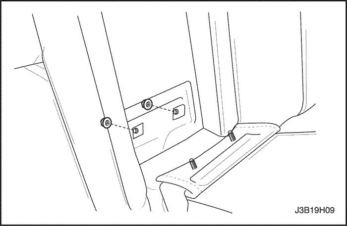 Как снять заднее сиденье шевроле круз