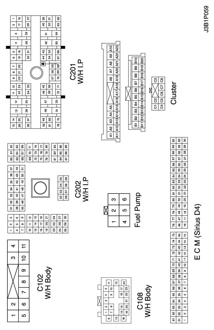 Ж/п приборная панель.  3) цепь контрольных ламп (индикации неисправности, абс, системы управления тягой...