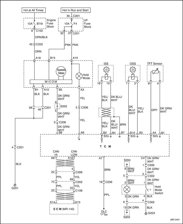 Принципиальные и монтажные схемы.  Контроллер коробки передач с главной передачей в сборе (1 из 2)...